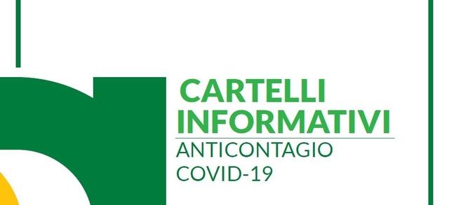 Cartelli informativi anticontagio Covid-19