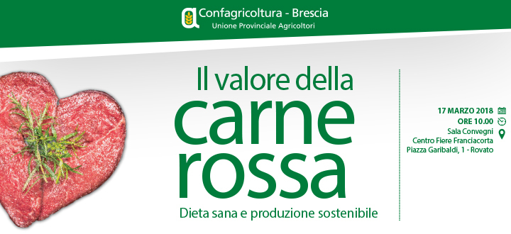 Convegno: Il valore della CARNE ROSSA - Dieta sana e produzione sostenibile