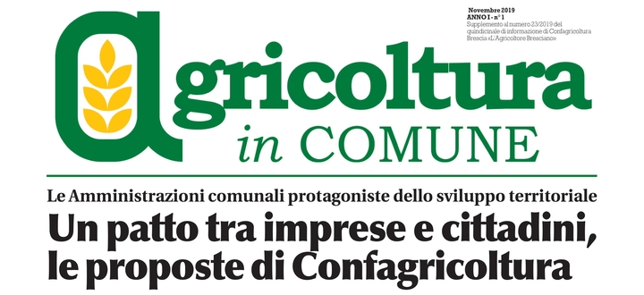 Agricoltura in comune n.1
