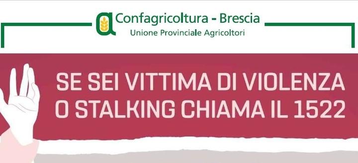 L'impegno di Confagricoltura Brescia nel contrasto alla violenza di genere