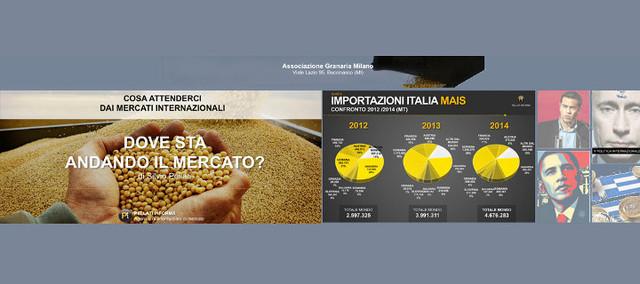I cerealicoltori recuperano marginalità - prezzo del mais, alla Granaria di Milano tre nuove quotazioni