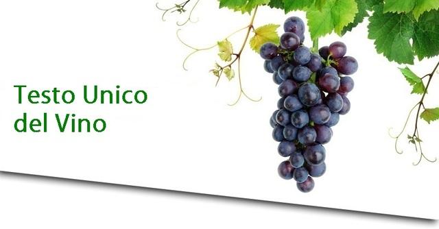 Testo Unico del Vino