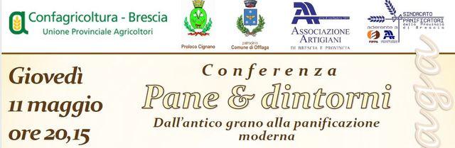 Conferenza pane e dintorni - Dall'antico grano alla panificazione moderna
