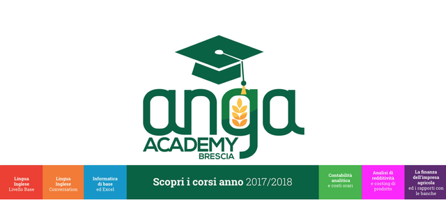 Academy Anga Brescia, torna la formazione per giovani imprenditori agricoli