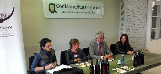 Un patto territoriale per il rilancio della viticoltura delle colline a sud di Brescia: Confagricoltura a fianco del Consorzio Montenetto
