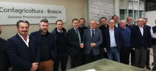 """Il Consiglio di Confagricoltura Brescia al Prefetto: """"Prioritario l'impegno sui danni da fauna selvatica, acqua ed ambiente"""""""