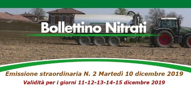 Bollettino Nitrati straordinario N. 2