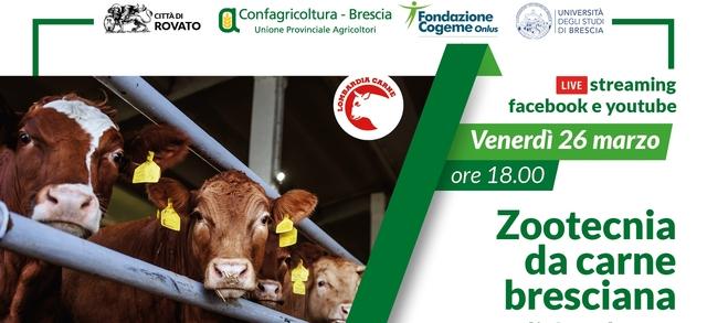 Lombardia Carne si trasferisce online: salta la 132esima edizione, ma Confagricoltura Brescia propone un convegno per parlare di Zootecnia da carne bresciana di qualità
