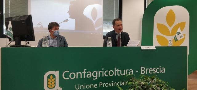 """Confagricoltura Brescia si conferma solida, Garbelli: """"Servizi sempre più qualificati e prossimità alle aziende per sostenere la ripresa e la voglia di fare impresa"""""""