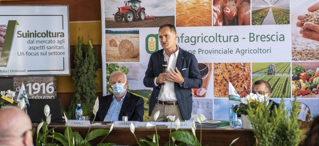 """Giovanni Garbelli, presidente di Confagricoltura Brescia: """"Lo sviluppo del settore passa obbligatoriamente attraverso il potenziamento della filiera"""""""